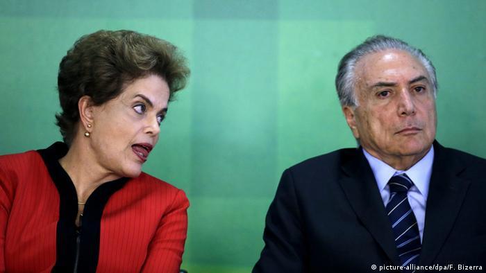 Dilma Rousseff Brasilien Michel Temer