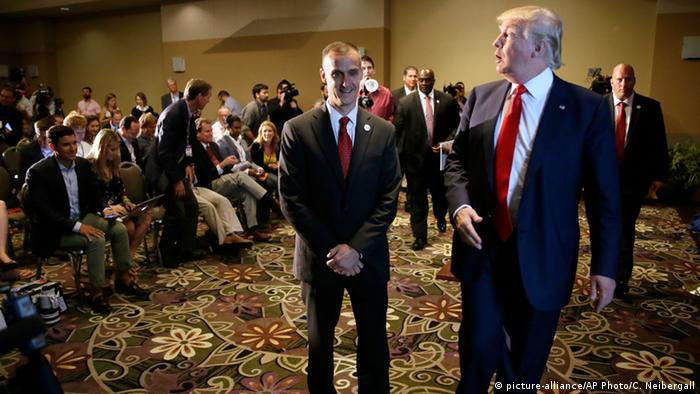 USA Wahlkampf Donald Trump & Wahlkampfmanager Corey Lewandowski