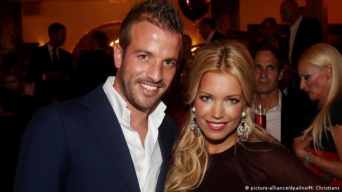 Rafael Van Der Vaart und seine Frau Sylvie