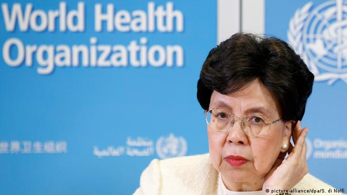 Margaret Chan, Director-General of the World Health Organization