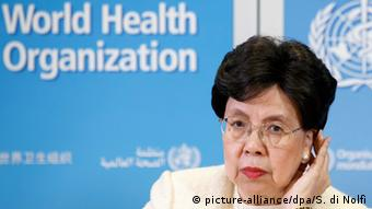 China's Margaret Chan, General Director of the World Health Organization, WHO.