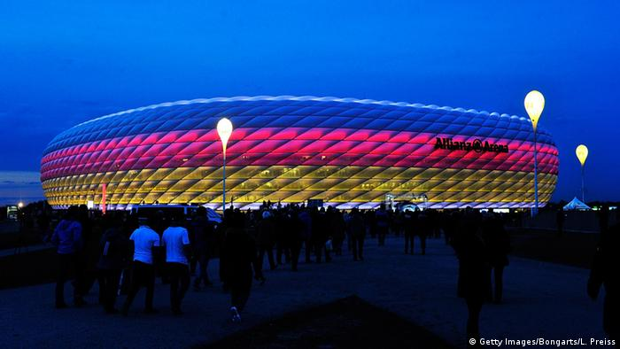Fußball Länderspiel Deutschland - Italien