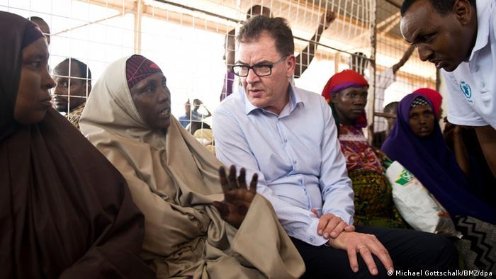 Bundesentwicklungsminister Müller besucht Kenia