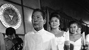 The People Power Revolution in the Philippines ousted dictator Ferdinand Marcos 25 years ago