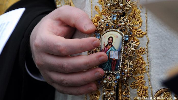 Deutschland Wasserweihe der Orthodoxen Christen (picture-alliance/dpa/R. Jensen)