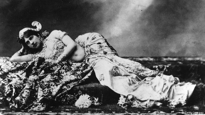 Spionage Mata Hari Tänzerin und Spionin (Getty Images)