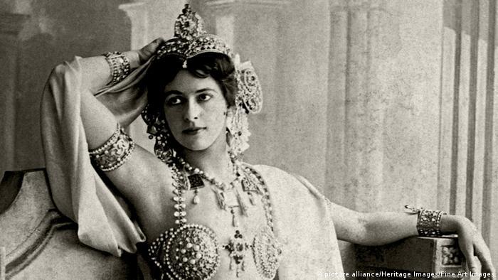 Tänzerin und Spionin Mata Hari (Foto: dpa)