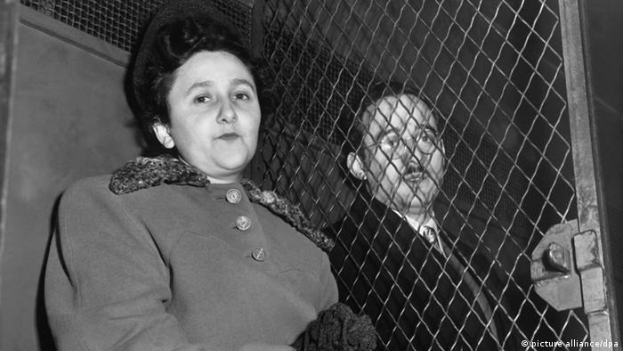 Spionage Julius und Ethel Rosenberg (picture alliance/dpa)