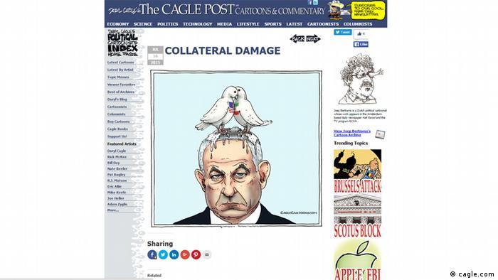 Screenshot der Webseite www.cagle.com