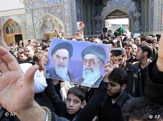 Die Mehrheit: Schiiten-Demonstration in der heiligen Stadt Qom