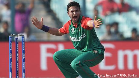 Indien World Twenty20 cricket tournament - Spieler Shakib Al Hasan