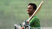 Bangladesch Cricket-Spieler Shakib Al Hasan