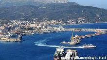 Spanien Exklave Ceuta Hafen