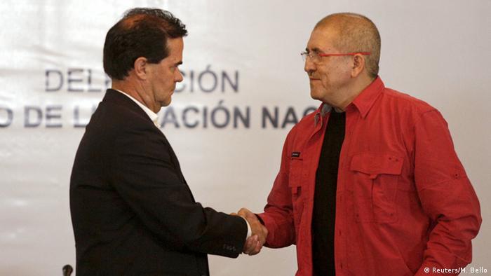 Venezuela Verhandlungen zwischen der ELN und der Regierung Kolumbiens