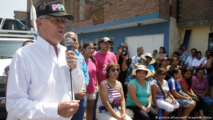Peru Präsidentschaftskandidat Pedro Pablo Kuczynski