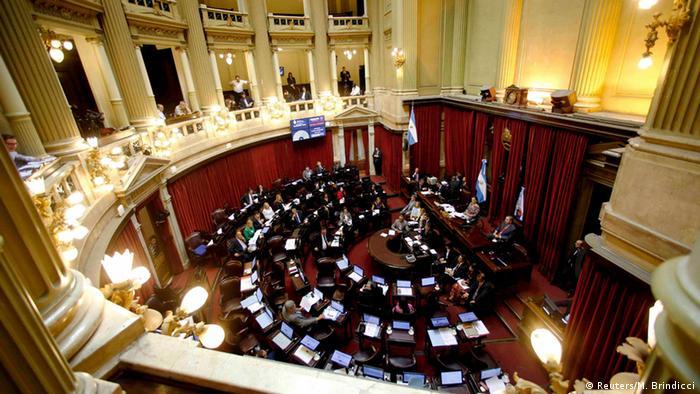 Argentinien Senat in Buenos Aires