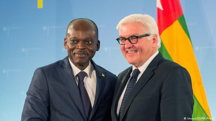 Togolese Foreign Minister Robert Dussey and his german Counterpart Frank-Walter Steinmeier