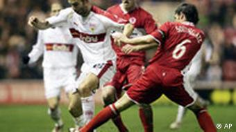 UEFA Cup Middlesbrough vs. Stuttgart
