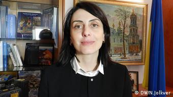 Предыдущая глава Национальной полиции Хатия Деканоидзе