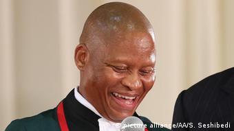 Südafrika Richter Mogoeng Mogoeng in Pretoria