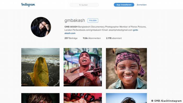 Screenshot instagram GMB AKASH