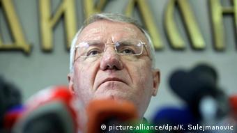 Vojislav Seselj in Belgrad Kriegsverbrechertribunal