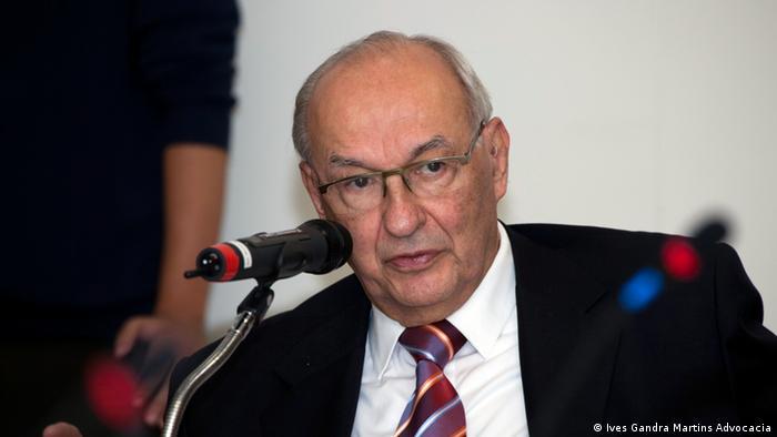 Ives Gandra Martins, autor do primeiro parecer que apontou elementos para fundamentar um processo de impeachment
