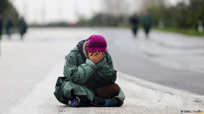 Flüchtlinge in Idomeni psychologische Strapazen