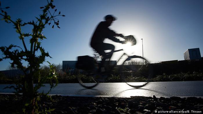 Ciclista na Alemanha