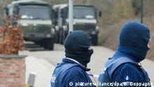 Belgische Sicherheitskräfte im Dauereinsatz