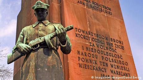 Memorial do Exército Vermelho em Varsóvia