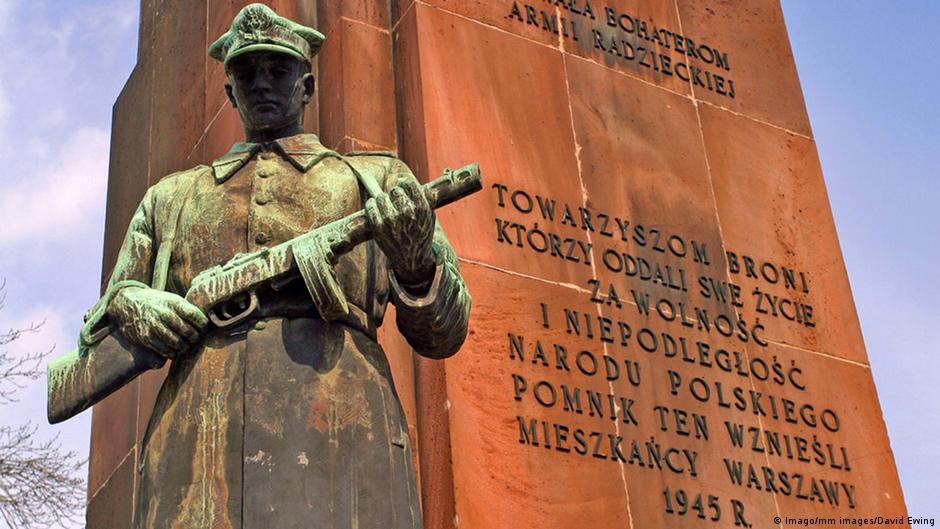 Polen Warschau Ehrenmal der Roten Armee im 2. Weltkrieg