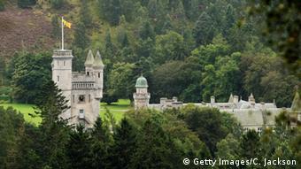 Queen Elizabeth II's summer residence, Balmoral Castle, Aberdeenshire