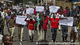 L'opposition conteste le troisième mandat de Nkurunziza