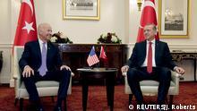 Treffen von Joe Biden mit Tayyip Erdogan