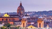 Blick über Rom - Aussicht des Kardinals Tarcisio Bertone