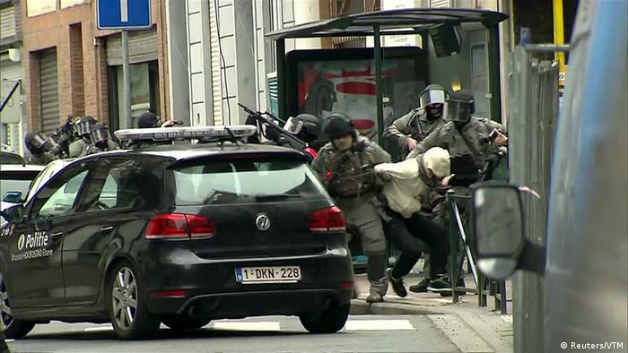 Belgian police arrest Salah Abdeslam