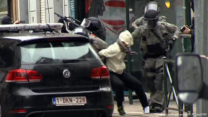 Belgien Brüssel Molenbeek Festnahme Terrorist Salah Abdeslam