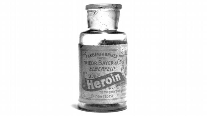 Bayer Produkt Wirkstoff Heroin