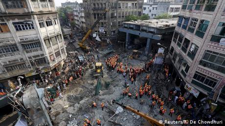 В Індії обвалився міст: є поранені