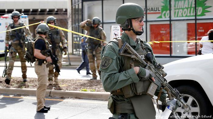 Schießerei an Greyhound Busstation Virginia Richmond SWAT