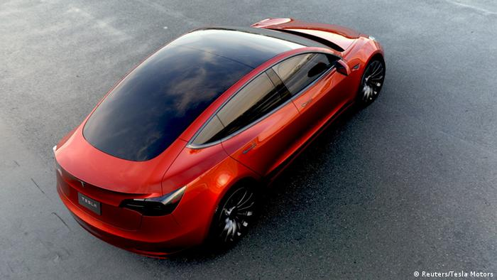 Tesla Motors Elektroauto Model 3