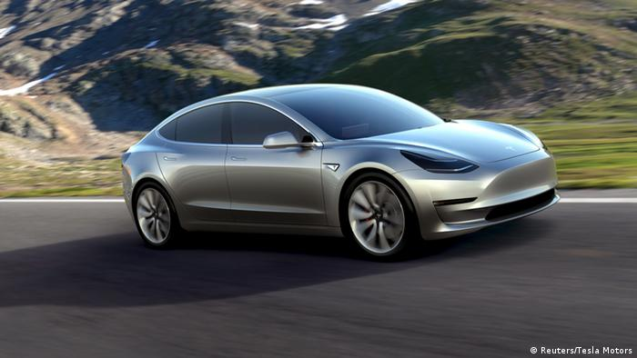 Tesla Motors Elektroauto Model 3