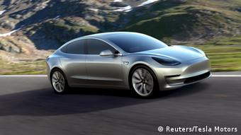 Tesla Motors e-car Model 3 (Reuters/Tesla Motors)