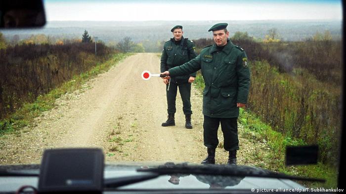 Латвийские пограничники (фото из архива)