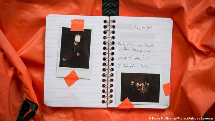 Ausstellung Refugee Cameras in Hamburg