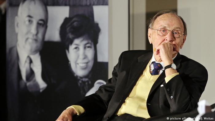 Bildergalerie Der frühere Bundesaußenminister Hans-Dietrich Genscher
