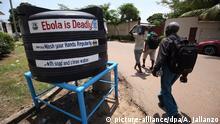 Liberia Händewaschen gegen Ebola