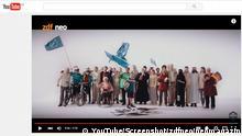 2016 ****Screenshot nur in Verwendung des YouTube-Links verwenden***** Screenshot der neuen Fernsehsendung Be Deutsch Ausgabe des Neo Magazin Royale, des zdf neo Copyright: YouTube/Screenshot/zdfneo/neomagazin