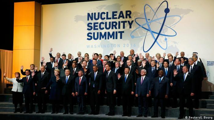 Washington Nuklear-Gipfel Gruppenfoto